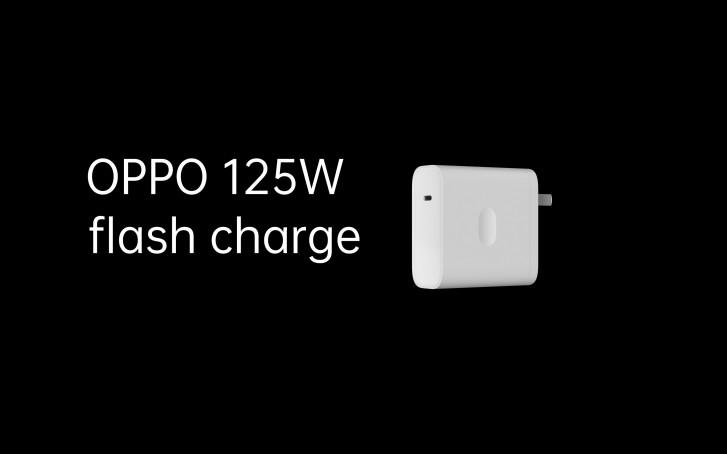 oppo ricarica rapida 125W caricabatterie