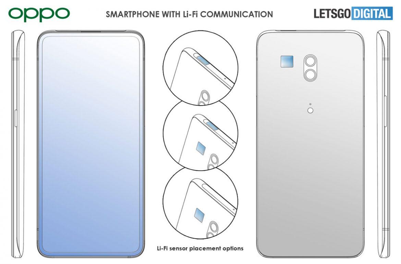 oppo smartphone LiFi brevetto