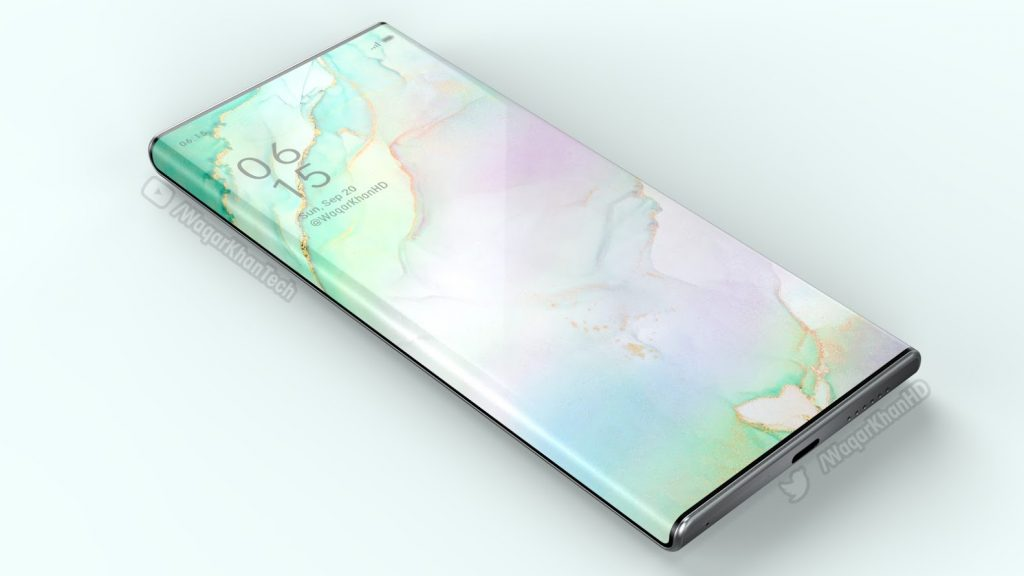 oppo find x3 display