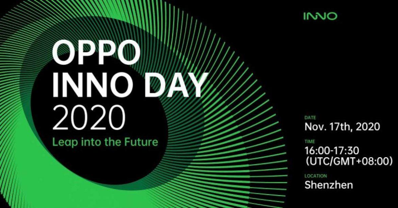 OPPO Inno Day 2020 data