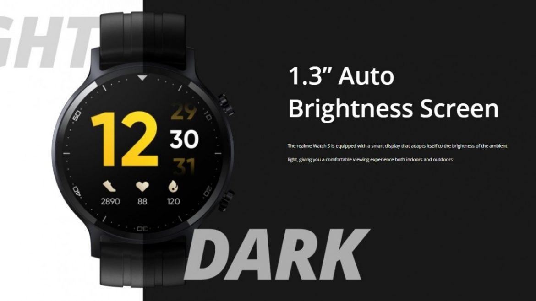 realme watch s display
