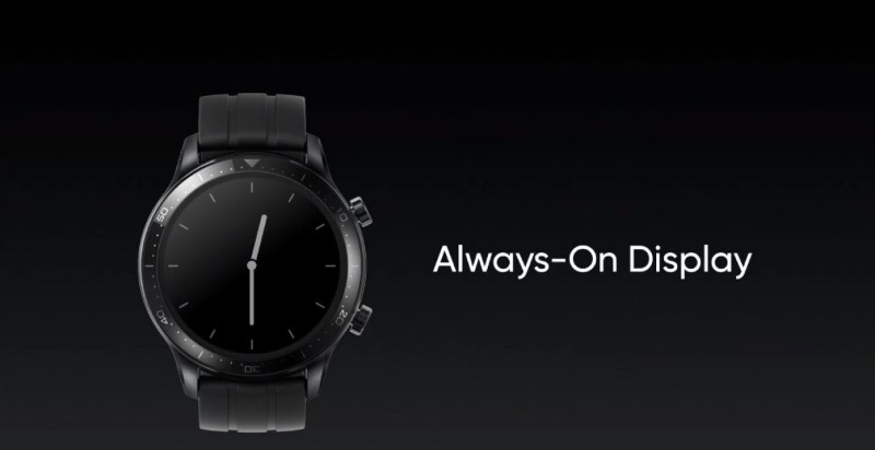 realme watch s pro always on