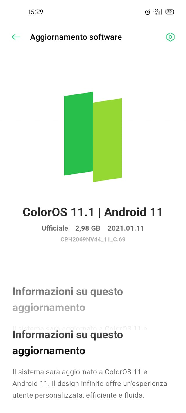 oppo a52 android 11 coloros