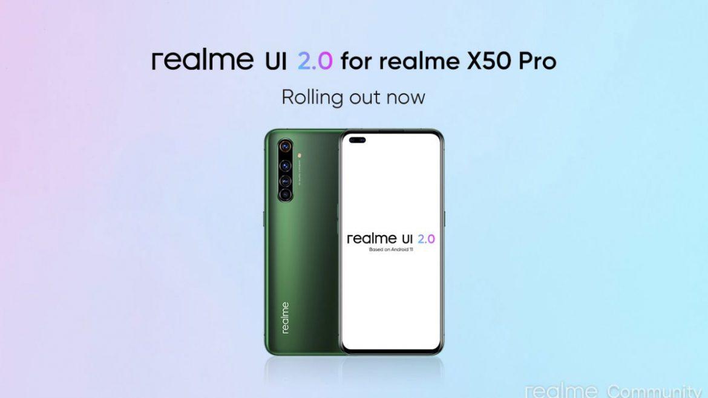realme x50 pro realme ui 2.0
