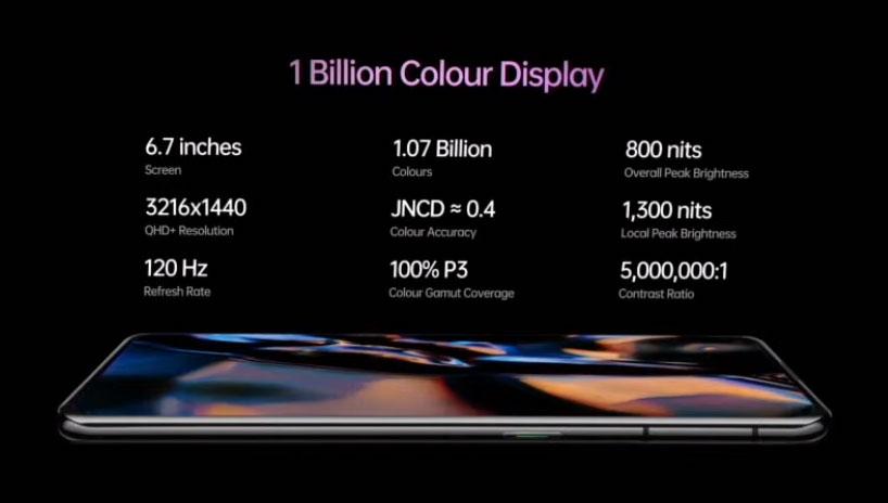 find x3 pro display