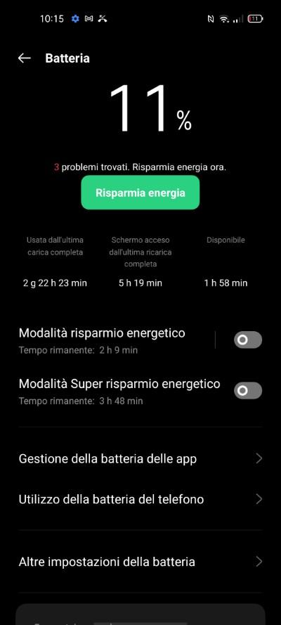 OPPO A94 5G autonomia batteria