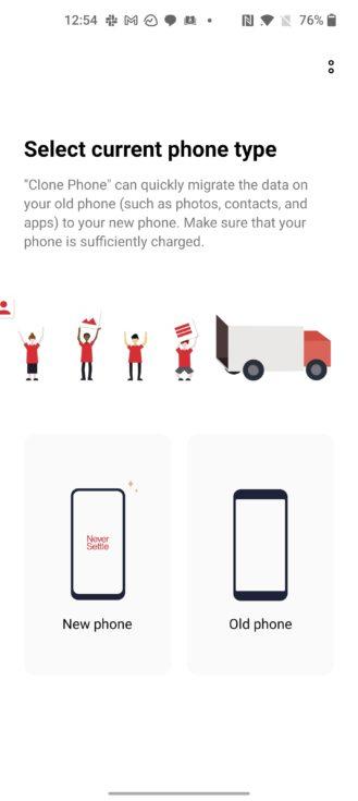 oneplus switch app screenshot