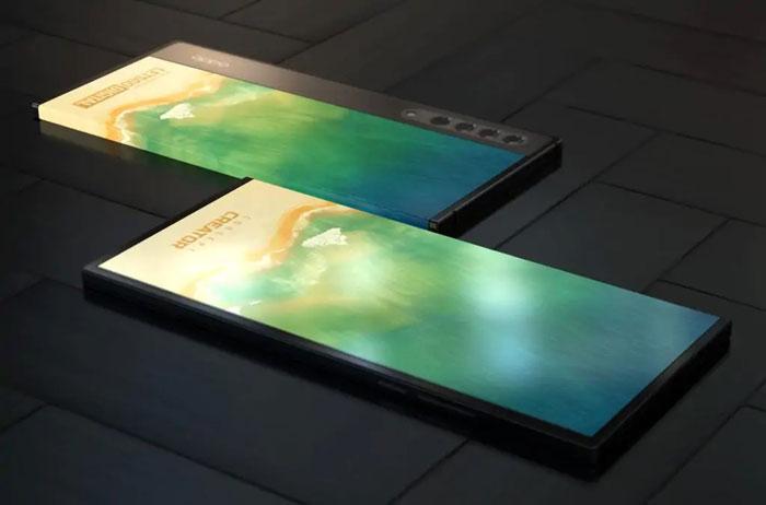 oppo smartphone display avvolgente