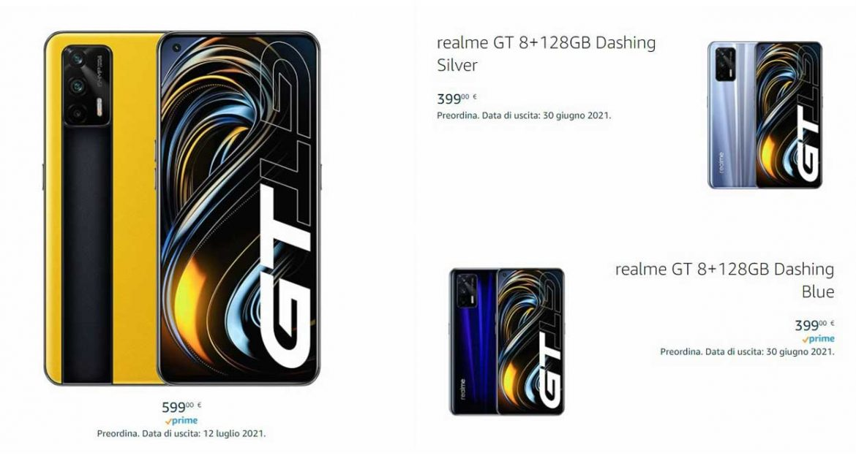 Realme GT 8/128 GB Amazon