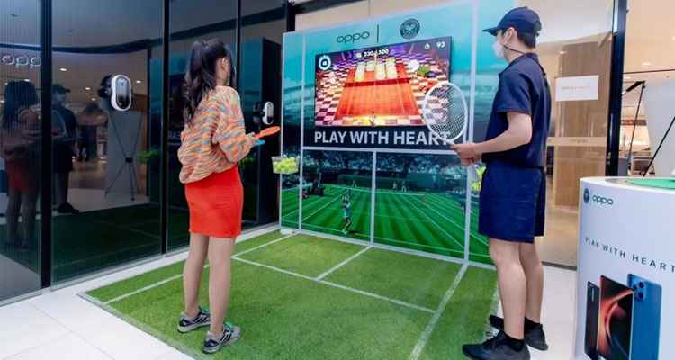 oppo play with heart wimbledon