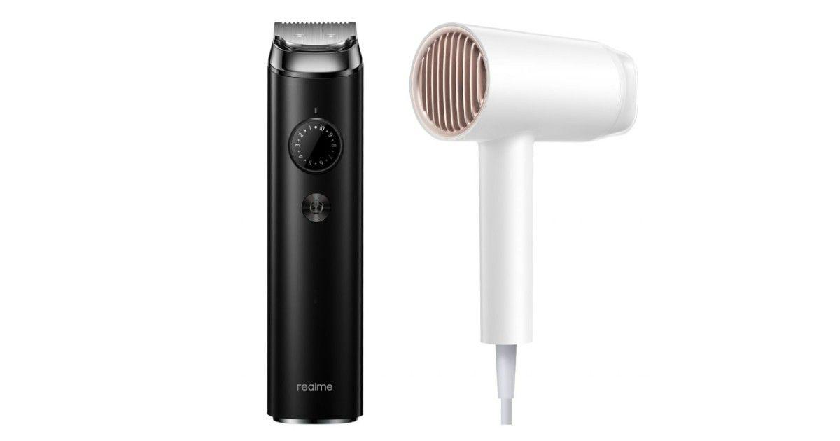 realme beard trimmer e hair dryer