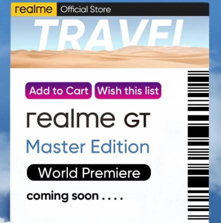 realme gt master edition global premiere