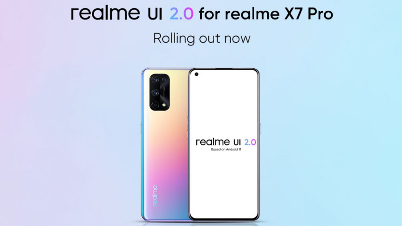 realme x7 pro android 11 e realme ui 2.0